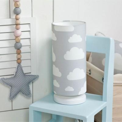 Noční lampička pro děti - Cloud Grey